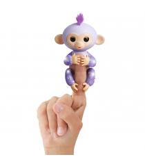 Fingerlings Обезьянка Кики светло пурпурная 12 см 3762 WowWee