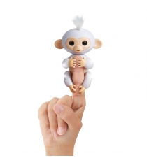 Fingerlings Обезьянка Шугар белая 12 см 3763 WowWee