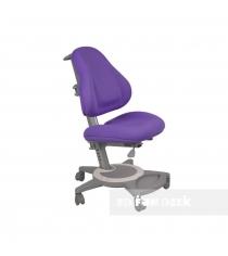 Кресло для дома FunDesk Bravo серый фиолетовый