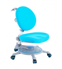 Детское кресло FunDesk SST1 серый голубой