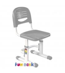 Детское кресло FunDesk SST3 серый белый