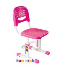 Детское кресло FunDesk SST3 розовый белый