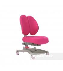 Ортопедическое кресло FunDesk Contento серый розовый...