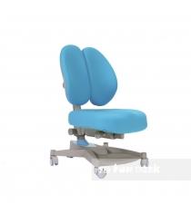 Ортопедическое кресло FunDesk Contento серый голубой
