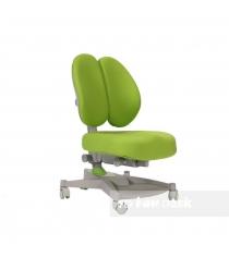 Ортопедическое кресло FunDesk Contento серый зеленый...