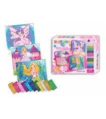 Набор мозаика для девочек 3 в 1 принцесса русалочка Funnivation FM1405