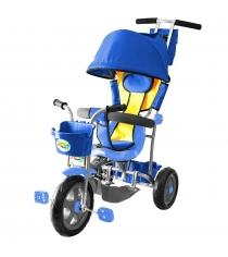 Трехколесный велосипед Galaxy Лучик-1 синий 5594