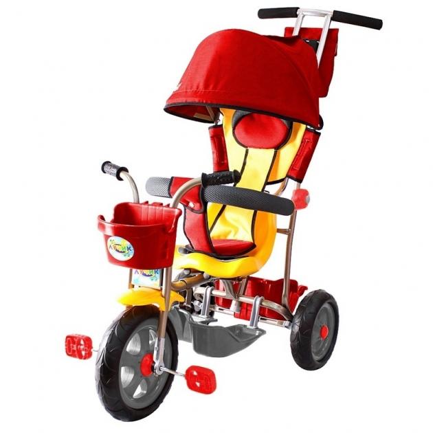Трехколесный велосипед Galaxy Лучик-1 красный 5596