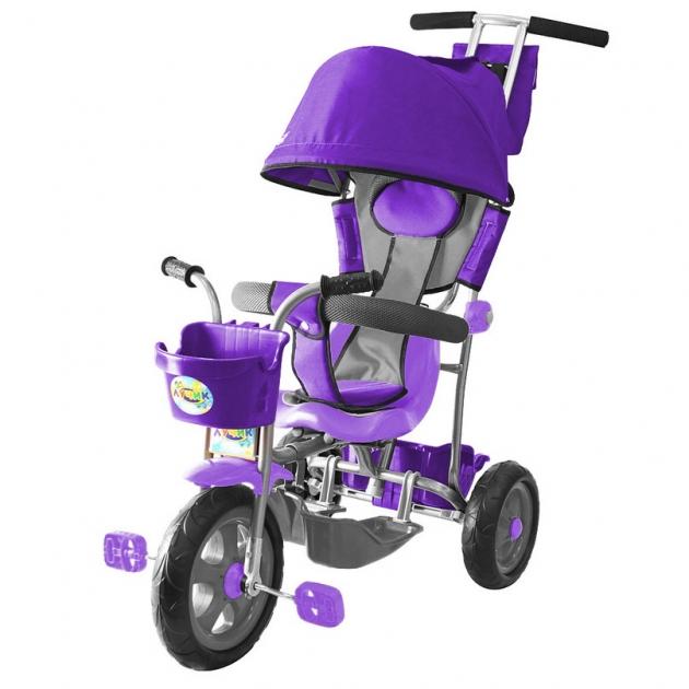 Трехколесный велосипед Galaxy Лучик-1 фиолетовый 5598