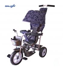 Трехколесный велосипед Galaxy Лучик-1 круги на сером 5864...