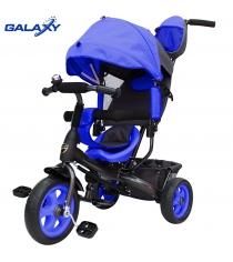 Велосипед 3х колесный Galaxy лучик vivat синий 6575