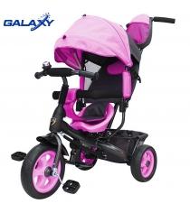 Велосипед 3х колесный Galaxy лучик vivat розовый 6576...