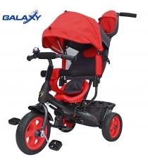 Велосипед 3х колесный Galaxy лучик vivat красный 6578...