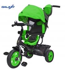 Велосипед 3х колесный Galaxy лучик vivat зеленый 6579...