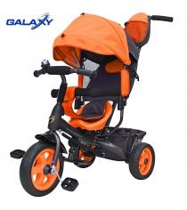 Велосипед 3х колесный Galaxy лучик vivat оранжевый 6580...