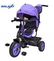 Велосипед 3х колесный Galaxy лучик vivat фиолетовый 6582...
