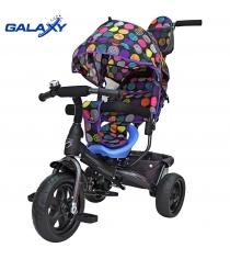 Велосипед 3х колесный Galaxy лучик vivat дизайн круги 6583...
