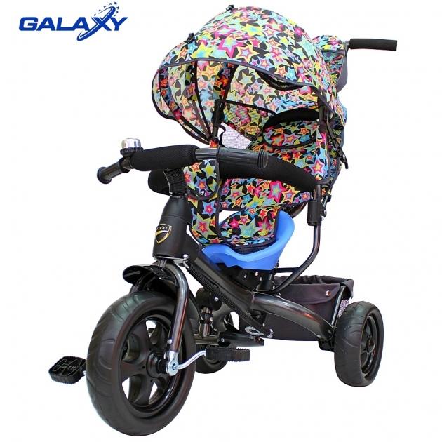 Велосипед 3х колесный Galaxy лучик vivat звезды 6584