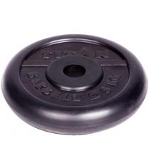 Диск обрезиненный Titan d 26 мм чёрный 2,5 кг 1062