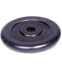 Диск обрезиненный Titan d 26 мм чёрный 25 кг 1067