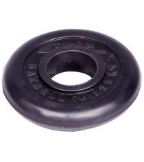 Диск обрезиненный Titan d 51 мм чёрный 1,25 кг 1075
