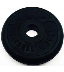 Диск обрезиненный Titan d 26 мм чёрный 0,75 кг СГ000002432