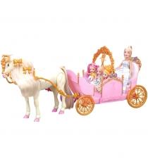 Игровой набор карета с куклами и лошадкой Girls Club IT102730