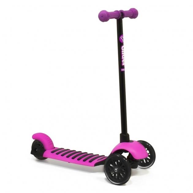 Кикборд YBIKE Glider Mini pink 6496
