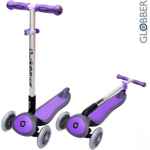 Самокат Globber elite s my free fold up purple 446 103 6315