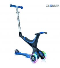Самокат Globber evo 5 in 1 с 3 светящимися колесами navy blue 457 100 6675...