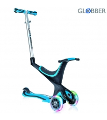 Самокат Globber evo 5 in 1 с 3 светящимися колесами sky blue 457 101 6676...
