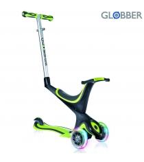 Самокат Globber evo 5 in 1 с 3 светящимися колесами green 6678...