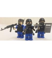 Конструктор спец отряд полиция 9 см Город игр gi-6459