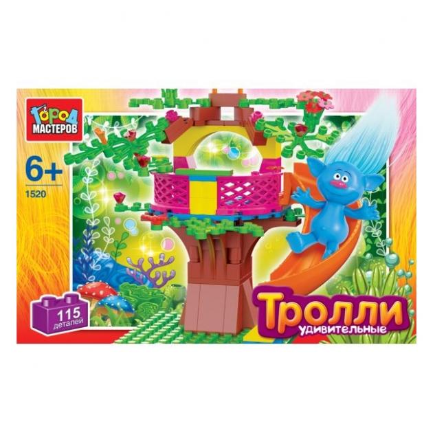 Конструктор тролли удивительные горка 115 Город мастеров AA-1520-R