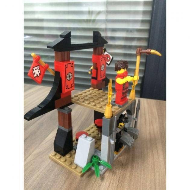 Конструктор самураи битва за храм Город мастеров LL-2707-R