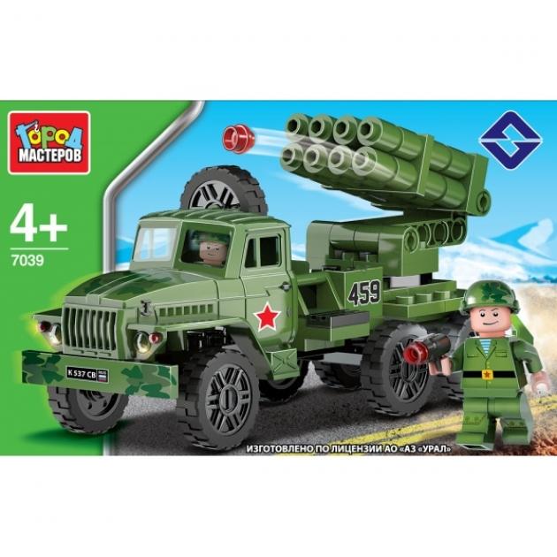 Конструктор ракетная установка урал 120 Город мастеров KK-7039-R