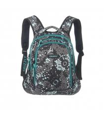 Школьный рюкзак звезды серо бирюзовый Grizzly RD-524-1/1...