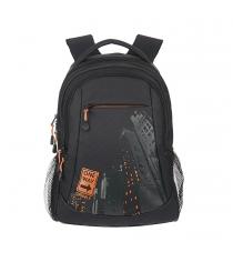 Детский рюкзак city черно оранжевый Grizzly RU-518-4/6...