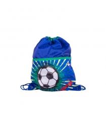Сумка для обуви футбол синий Gulliver M9
