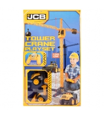 Строительный кран jcb с дистанционным управлением 2 машинки Halsall Toys 1416420