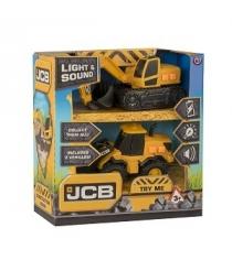 Экскаватор погрузчик jcb Halsall Toys 1416667