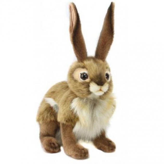 Мягкая игрушка чернохвостый заяц 30 см Hansa 3584