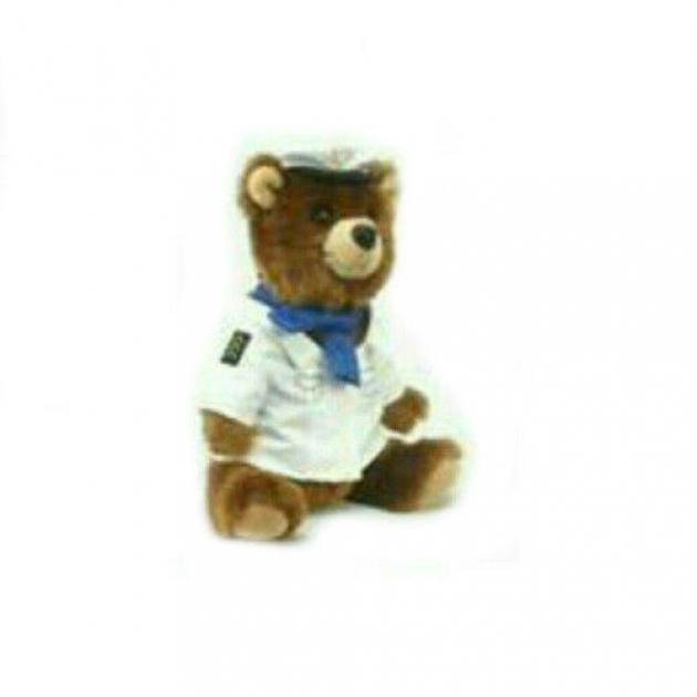 Мягкая игрушка медведь пилот 25 см Hansa 4032