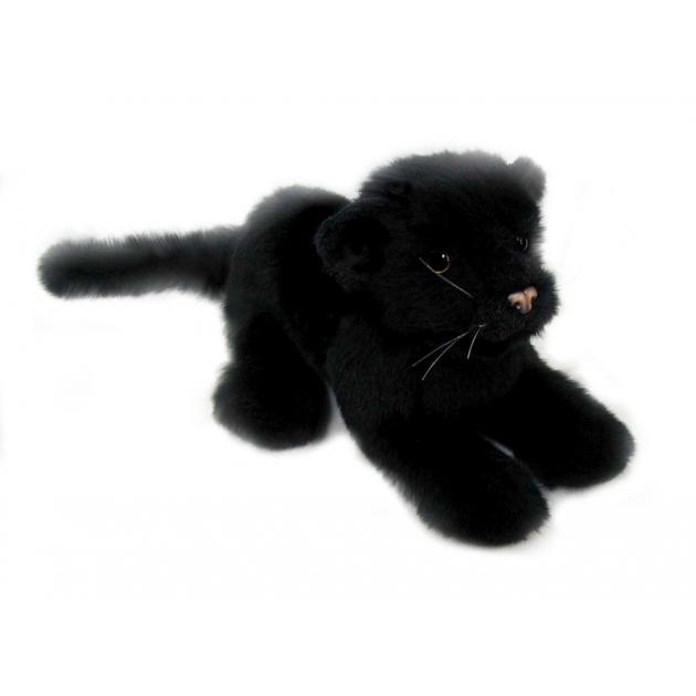 Мягкая игрушка детеныш черной пантеры 26 см Hansa 4090