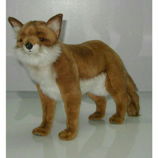 Мягкая игрушка рыжая лисица 62 см Hansa 4253