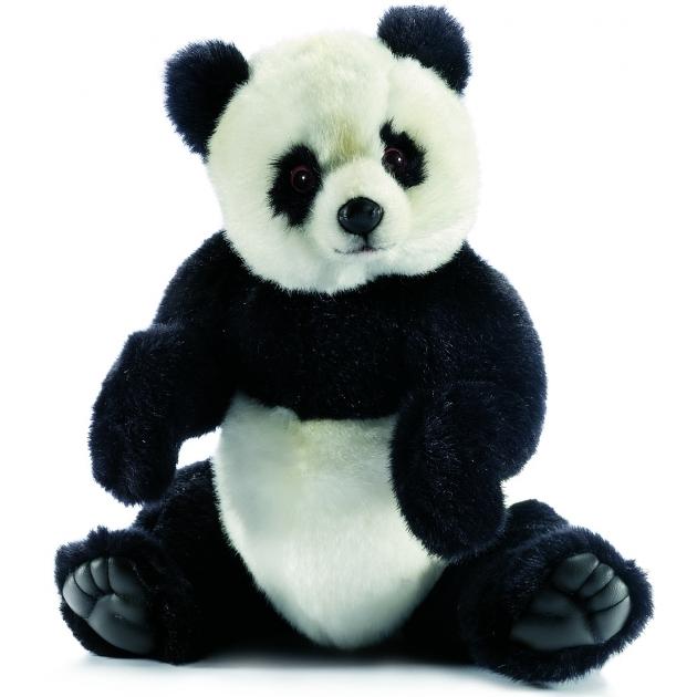 Мягкая игрушка панда 30 см Hansa 4473