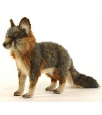 Мягкая игрушка Hansa серая лисица стоящая 40 см 4700