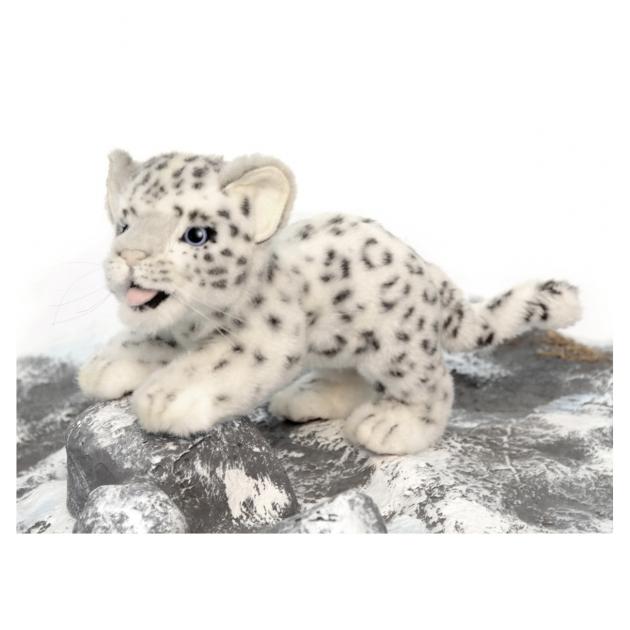 Мягкая игрушка детеныш снежного барса 30 см Hansa 4996