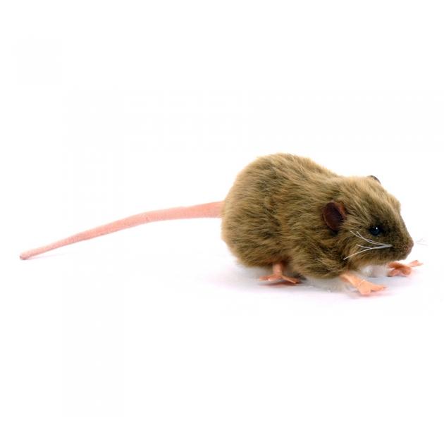 Мягкая игрушка бурая крыса 12 см Hansa 5577