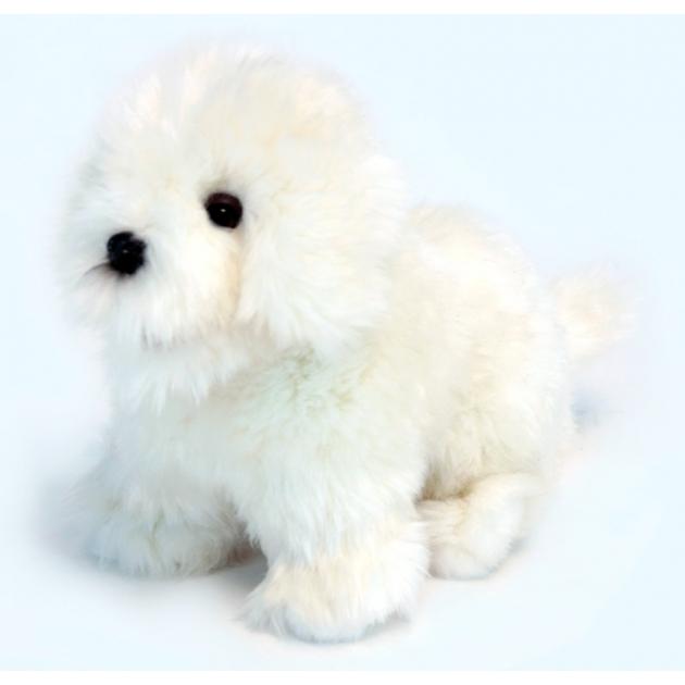 Мягкая игрушка собака породы бишон фризе 30 см Hansa 6317